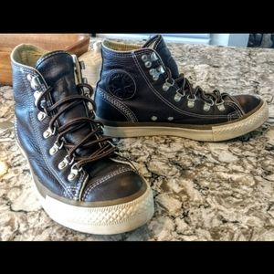 Chuck Taylor Chocolate Leather Hiker High Top
